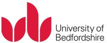 Bedford university logo